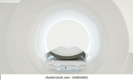 Computertomography machine - 3D rendering