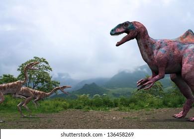 Concavenator vs Coelophysis