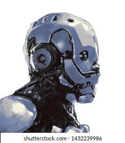 Futuristic Steampunk Concept Art