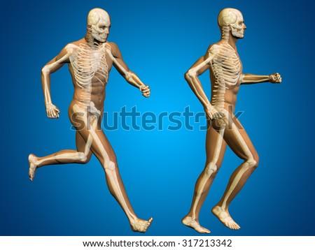 Concept Conceptual 3 D Human Man Male Stock Illustration 317213342
