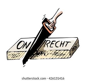 Concept - Dutch translation for Injustice