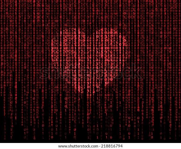 Concept of matrix love.