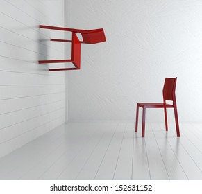 Concept picture of two chairs | Beyond gravity