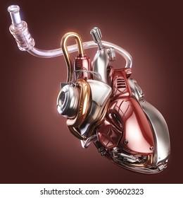 concept robot heart