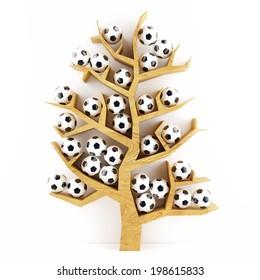 Concept Tree of football