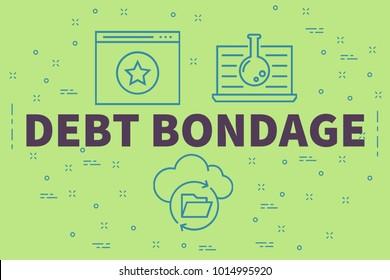 bondage peonage Debt vs