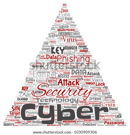 Royalty Free Stock Illustration Of Conceptual Cyber Security Online