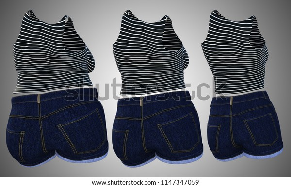 Conceptual fat overweight obese female clothes outfit vs slim fit healthy body after weight loss or diet thin young woman on gray. A fitness, nutrition or fatness obesity health shape 3D illustration
