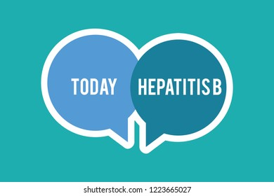 Conceptual hand writing showing Hepatitis B. Business photo text Severe form of viral hepatitis transmitted in infected blood
