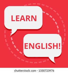 Conceptual hand writing showing Learn English. Business photo text Study another Language Learn Something Foreign Communication.