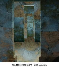 Concrete Mysterious Maze