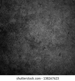 concrete wall Black dark background or texture.