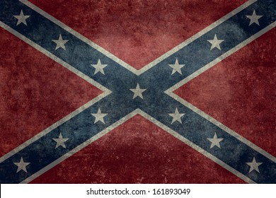 The Confederate flag, Distressed Vintage Version
