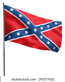Confederate flag from the USA Civil War.