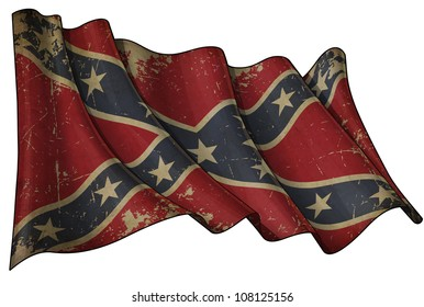 Confederate Rebel Historic flag