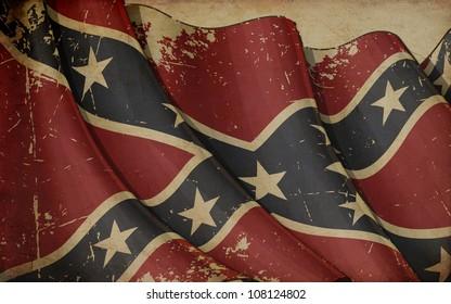 Confederate Rebel Old Paper