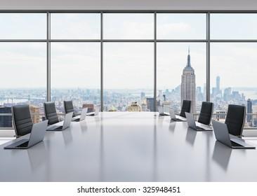 Fußboden Modern Talking ~ Conference room modern office windows city stockfoto jetzt