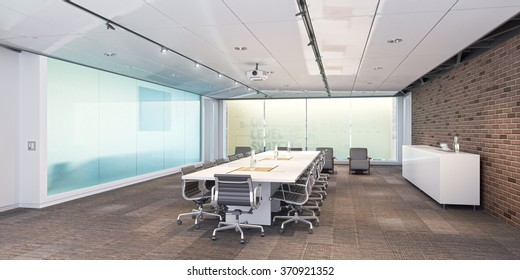 Conference room. Meeting room. Office room. Illustration