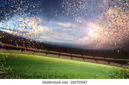 Confetti stadium