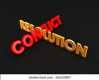 Conflict Resolution | Typo