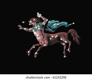 Constellation  the Centaur (Centaurus)