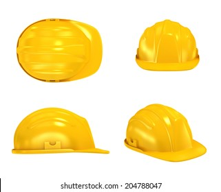 Construction Helmet various views