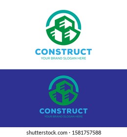 construction logo , real estate logo for your business