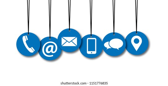 Contact us symbols Social Media network icons icon call us email at mobile signs sign fun funny talk Network digital technology People  connect business digital school whatsapp mail november blue app