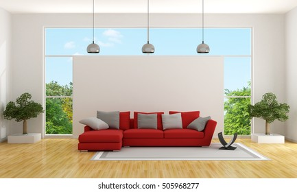 Home Red Sofa Images, Stock Photos & Vectors | Shutterstock