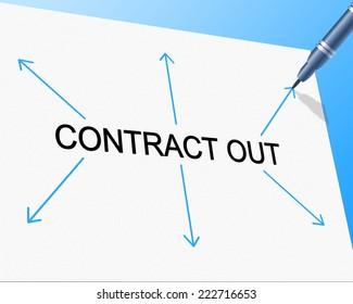 Contract Out Meaning Independent Contractor And Freelance