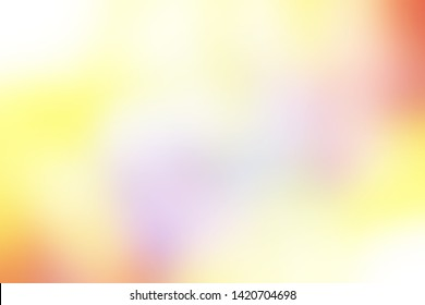 Cool background multicolor with blurred smooth transition of pink fuchsia mauve lemon gold yellow golden orange diffused pastel colors degrade concept for web poster blog post banner graphic design