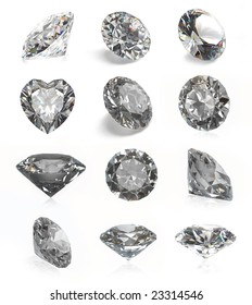 Cool collection of diamonds