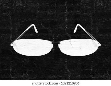 cool eyeglasses illustration