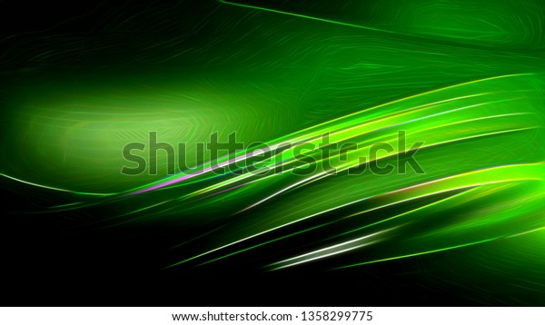 Cool Green Abstract Texture Background Design Stock