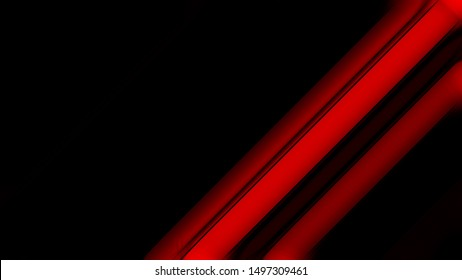 Cool Red Abstract Background Design