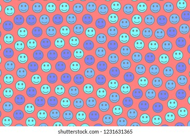 Cooperation design. Party template. Throng based on amusing moods.