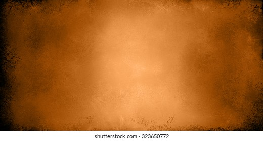 copper background. Orange brown background banner with vintage texture.