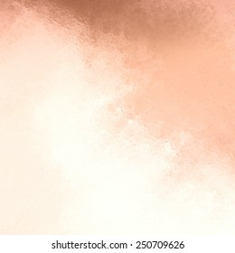 copper background with white cloudy grunge glass or metallic foil texture