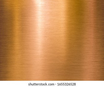 Copper or bronze brushed metal background or texture
