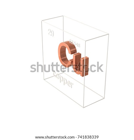copper chemical element, atomic number and atomic weight, chemical element  of periodic table
