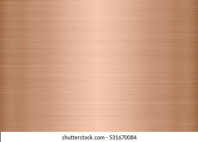 Copper metal texture background