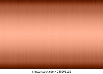 Copper texture surface