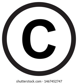 Copyright and trademark icon Logo