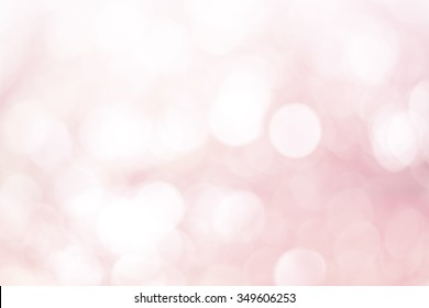 Coral pink bokeh background