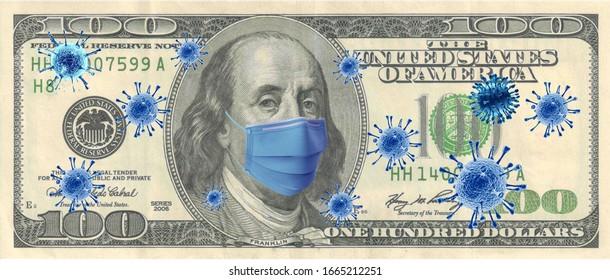Coronavirus (COVID-19) Quarantine Dolar Economy Money