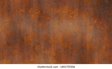 corroded metal rusty wall plate