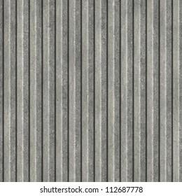 Corrugated metal. Seamless texture.