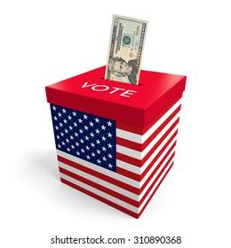 Corruption and big money lobbying in American election politics