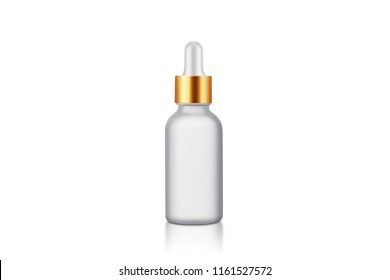 Cosmetic bottle dropper essential oil essence frosted frosted sand
