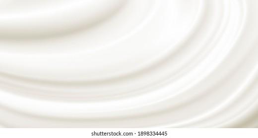 Cosmetic cream background design illustration